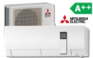 Mitsubishi varmepumpe fh25
