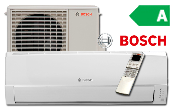 Enormt Bosch Compress luft til luft varmepumpe YZ52