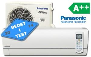 Panasonics he9 flagskib. Med en af markedets højeste varmeeffekt, selv når det er rigtig koldt
