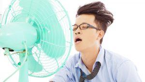 Aircondition-mand sveder