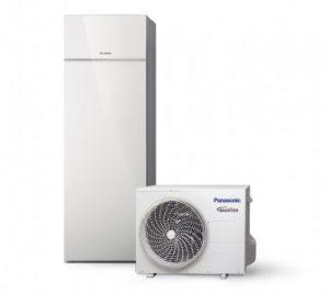 Panasonic Aquarea luft til vand varmepumpe